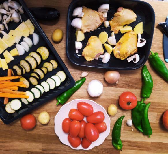 Cocina en una tarde para toda la semana!! Batch cooking con Thermomix®