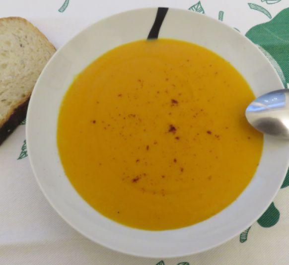 Crema de zanahorias rápida con Thermomix®