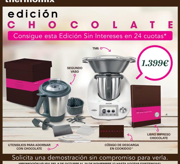 thermomix ''EDICION CHOCOLATE''