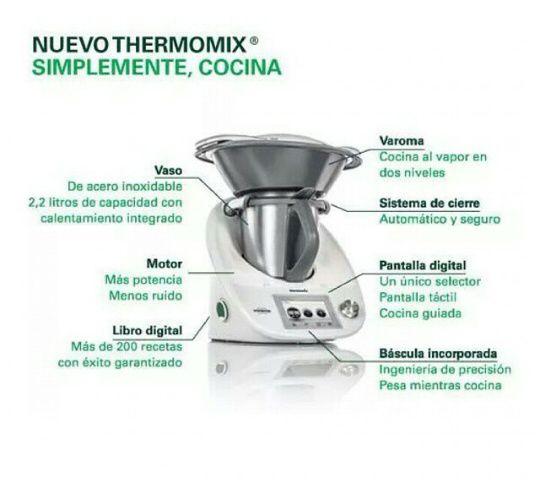 COCINANDO CON EL NUEVO Thermomix® TM 5