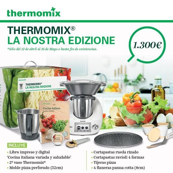 Thermomix® , presenta LA COCINA ITALIANA
