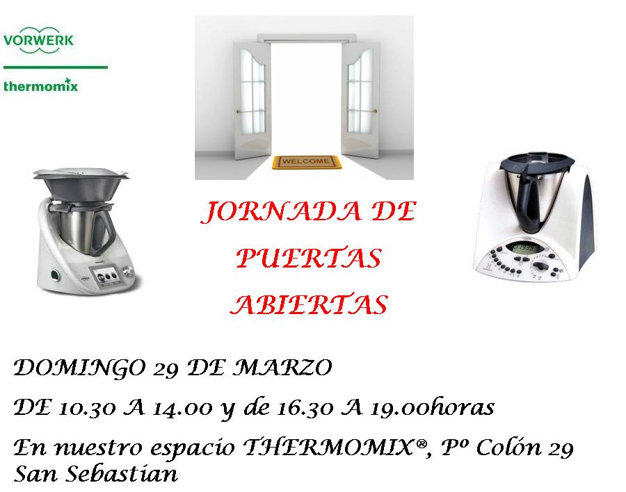 Jornada de Puertas Abiertas 29/3/15 Thermomix®