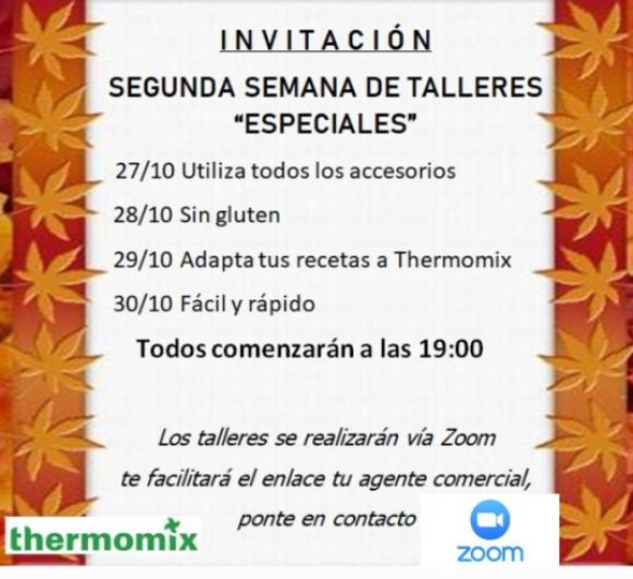 TALLER DE COCINA Thermomix®