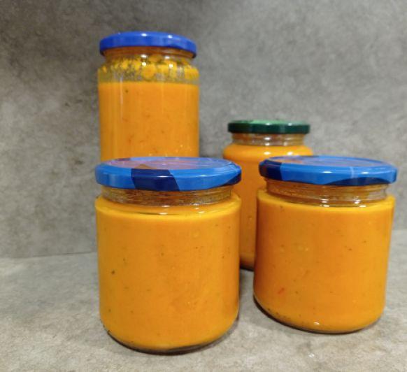 Salsa de Tomate y Zanahoria para toda la semana
