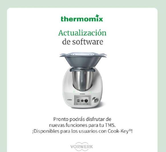 Actualización de software Tm 5