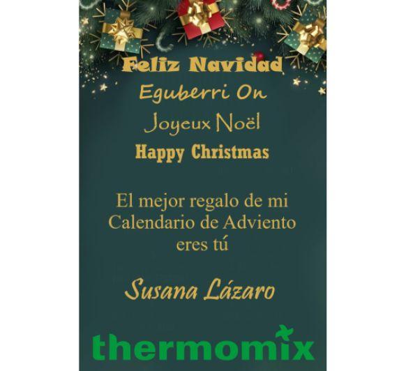 Feliz Navidad (Calendario de Adviento día 24)