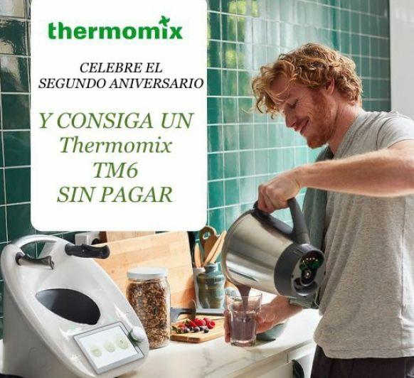 Quieres tener tu Thermomix® sin pagar y convertirte en un Tm6lover?