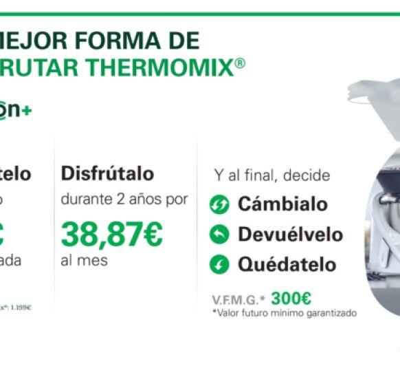 OPCION + LA MEJOR FORMA DE DISFRUTAR Thermomix®