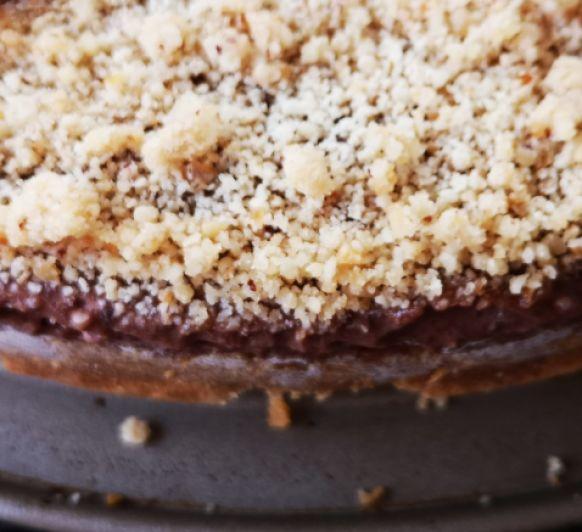 Tarta helada de crema de avellanas y mascarpone (Calendario de Adviento Día 19)