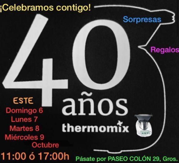 CELEBRACIÓN 40 ANIVERSARIO