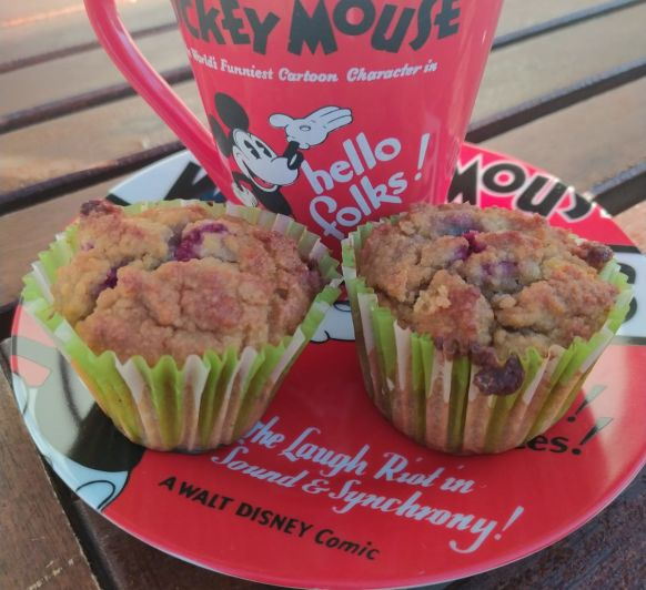 Desayuno keto y Low Carb: Bullet Coffee / Mocha Butter Coffee y Muffins de arandanos