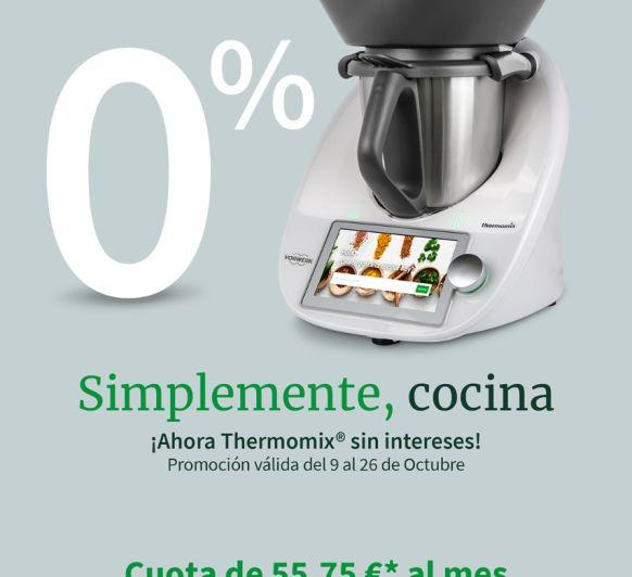 Tu Thermomix® al 0% de Intereses