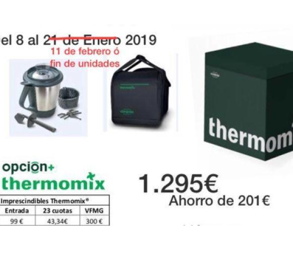 NUEVA PROMOCIÓN Thermomix® HASTA EL 11 FEBRERO 2019