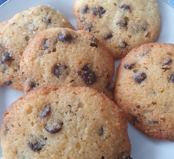 Cookies sin harina y sin azucar