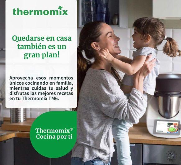 Quedarse en casa también es un gran plan: alimentos básicos para nuestra despensa en estos días con Thermomix® 3