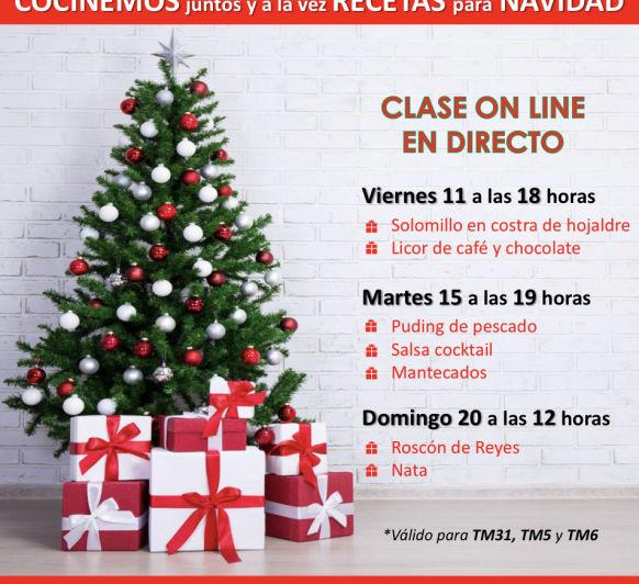 TALLERES DE NAVIDAD ONLINE- COCINA CONMIGO