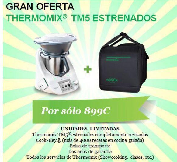 TM 5 ESTRENADAS + BOLSA POR 899€