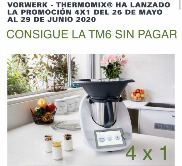 CONSIGUE TU Thermomix® SIN PAGAR, GRATIS! AHORA CON EL 4X1