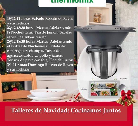 Talleres Cocinamos juntos: Navidad (Calendario de Adviento día 14)