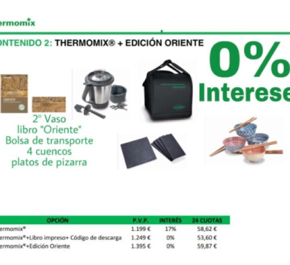 Compra la Thermomix® para Navidad con el 0%