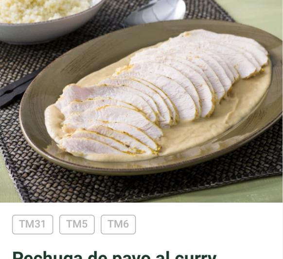 PAVO AL CURRY. Deliciosa receta para niños y mayores