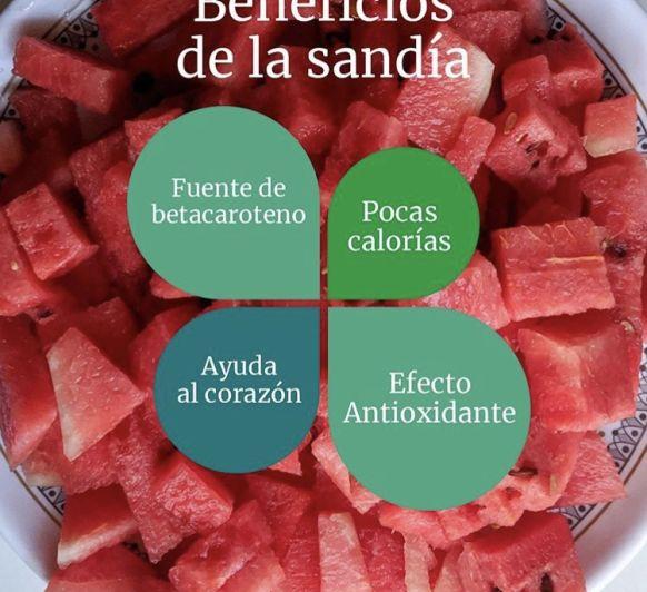 POLOS DE SANDÍA Y LIMÓN (beneficios de la sandía)